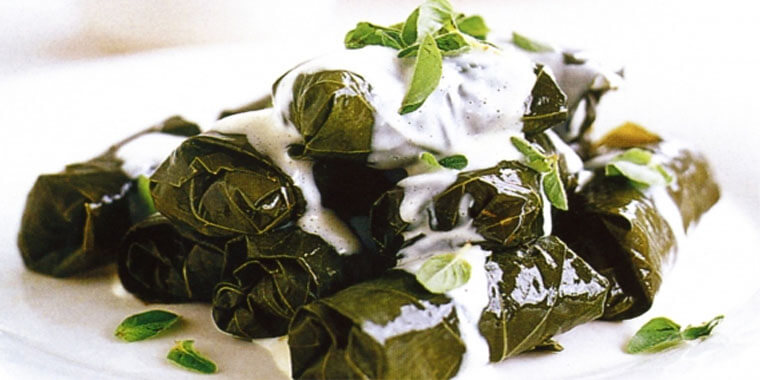 Turkish Cuisine - Stuffed Vine Leaves