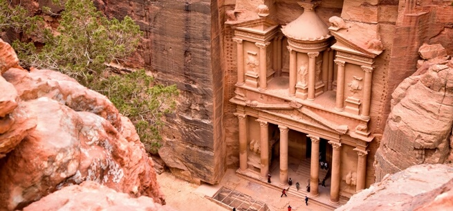 Treasury of Petra Jordan