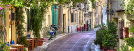 Athens old area Plaka