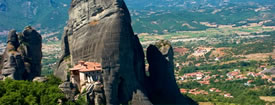 Meteora panoramic views