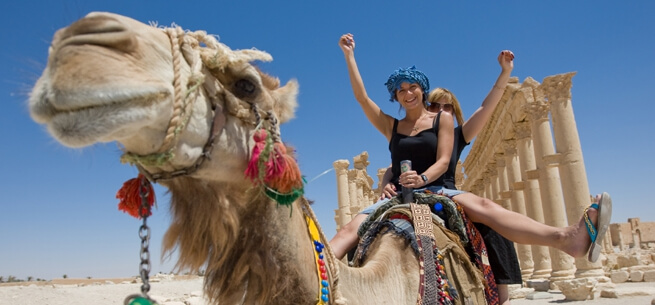 Camel Ride in Luxor Egypt