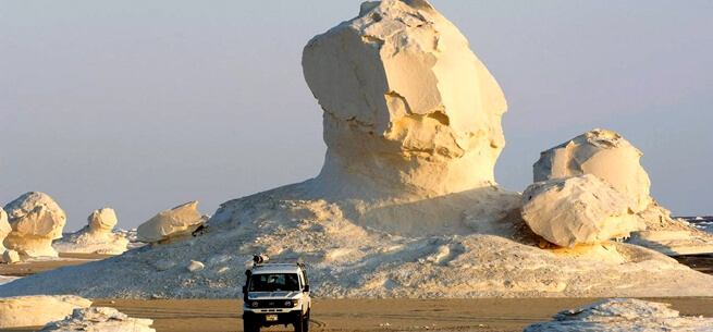 White Desert safari Egypt