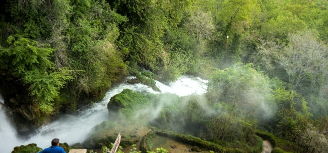Waterfall in Edessa Greece