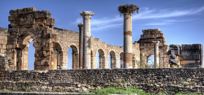 Volubilis and Moulay Idriss