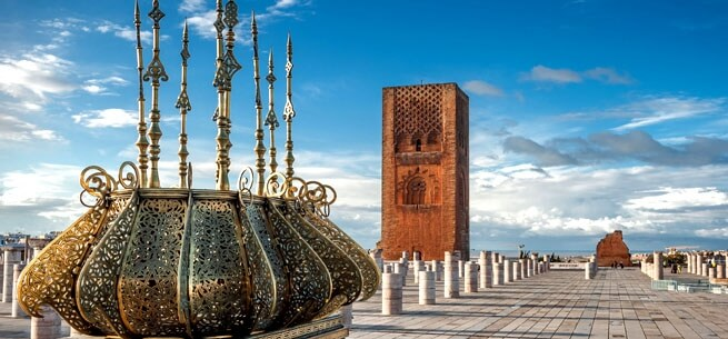 Rabat Hassan Tower Mosque