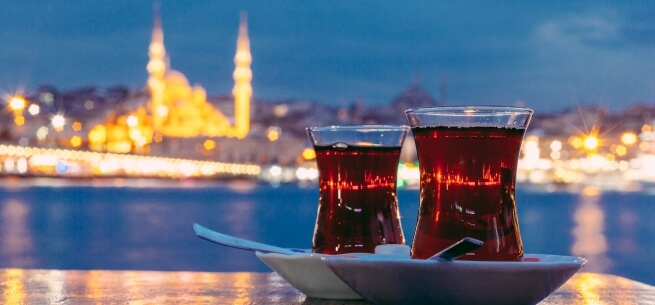 Tea Break in Istanbul