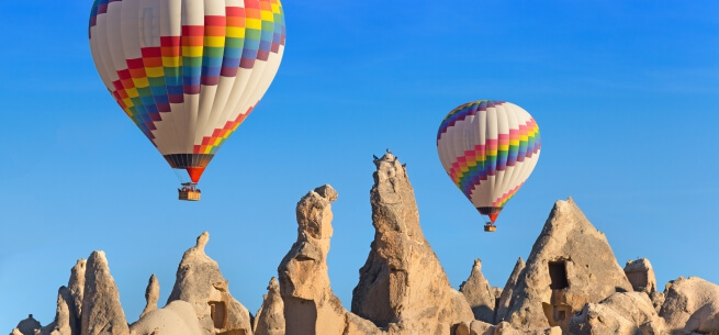 Hot Air Balloon tours Cappadocia